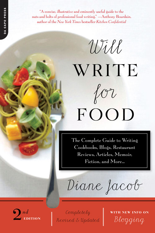 Food Book Cover Quest : An evolution of five book covers dianne jacob will