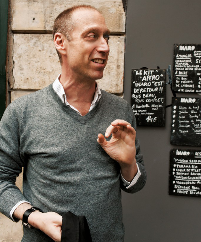 Food blogger and cookbook author David Lebovitz. (All photos by Ed Anderson.)
