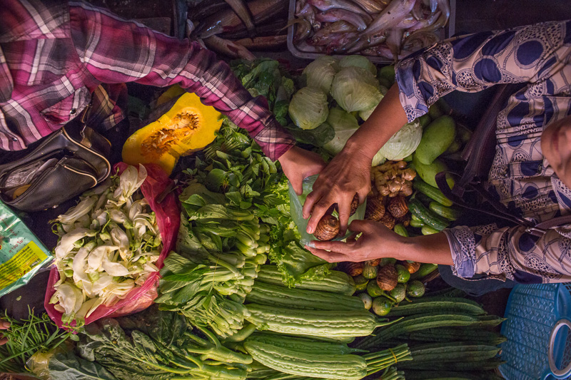 Cuisine Wat Dam Nak, Siem Reap, Cambodia