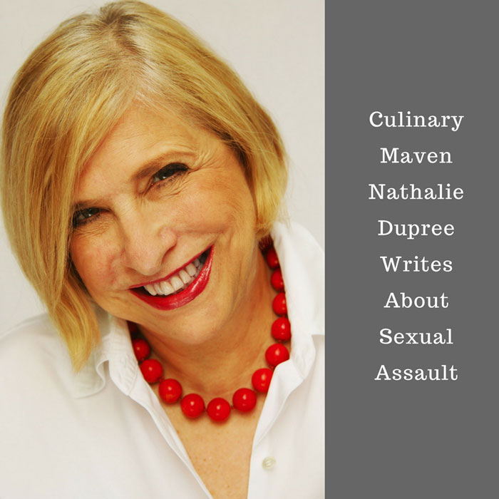 Can food writers write about more than food on social media? Nathalie Dupree wrote about sexual abuse.