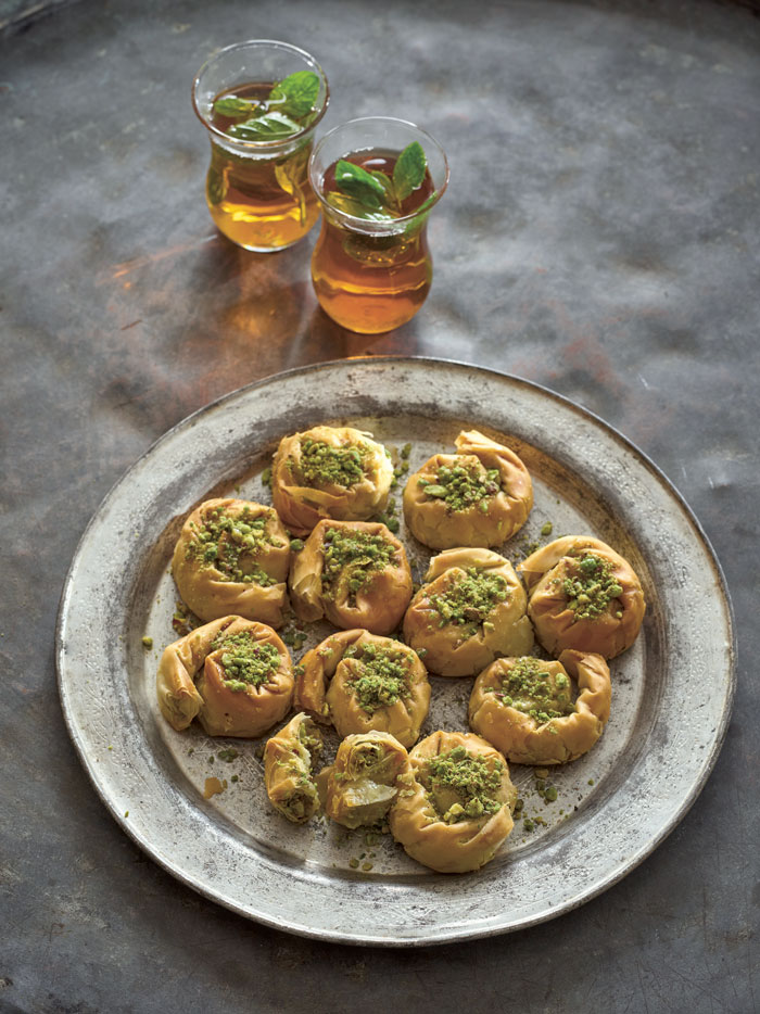 Easier Baklava recipes from The Palestinian Table.