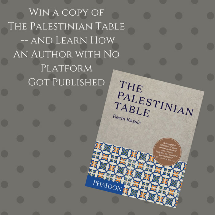 Win a copy of The Palestinian Table cookbook