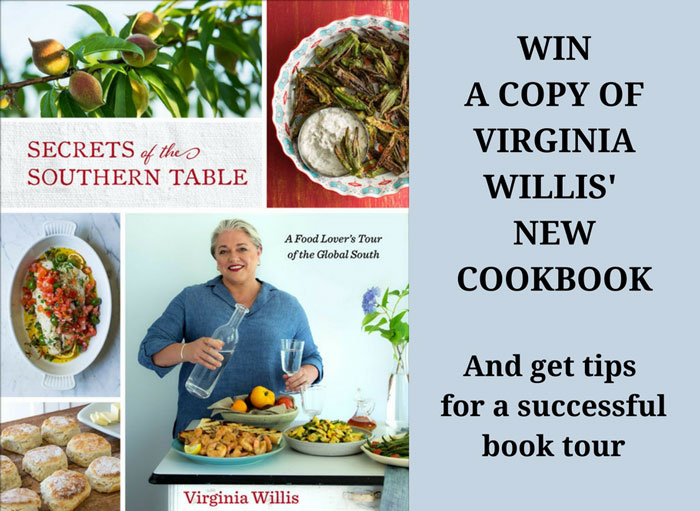 image for book tour and cookbook giveaway