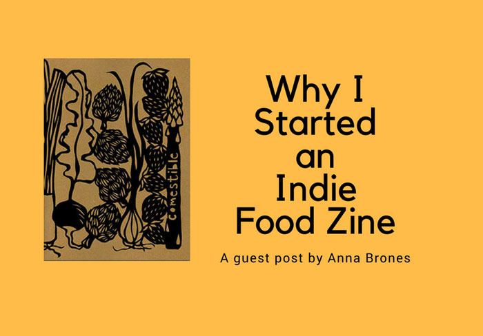 title image for food zine