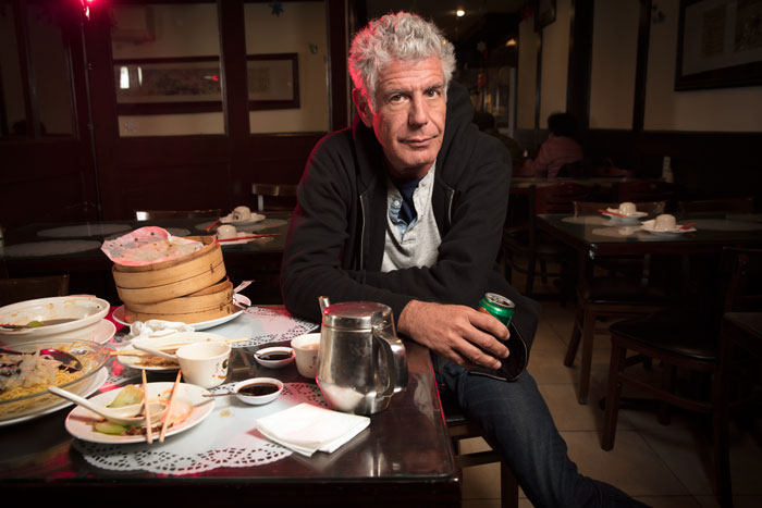 photo for interview with Anthony Bourdain