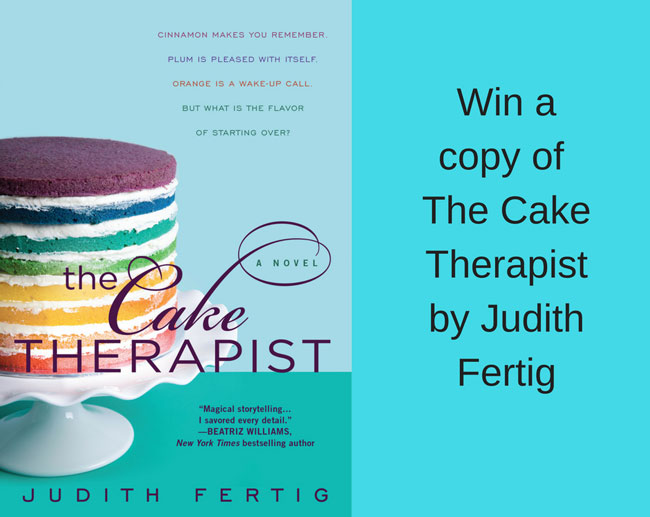 image for giveaway of The Cake Therapist