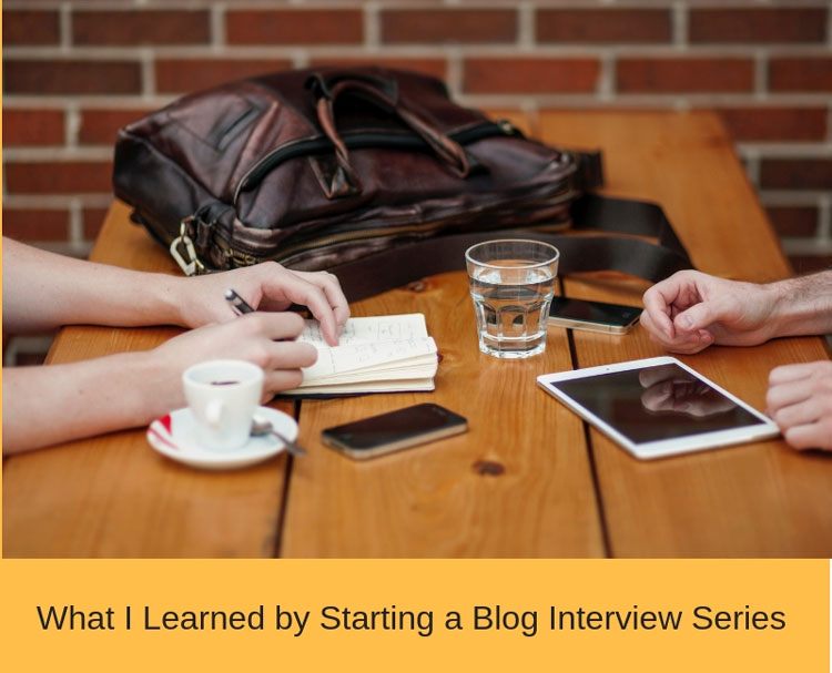 image for post on starting an interview series.