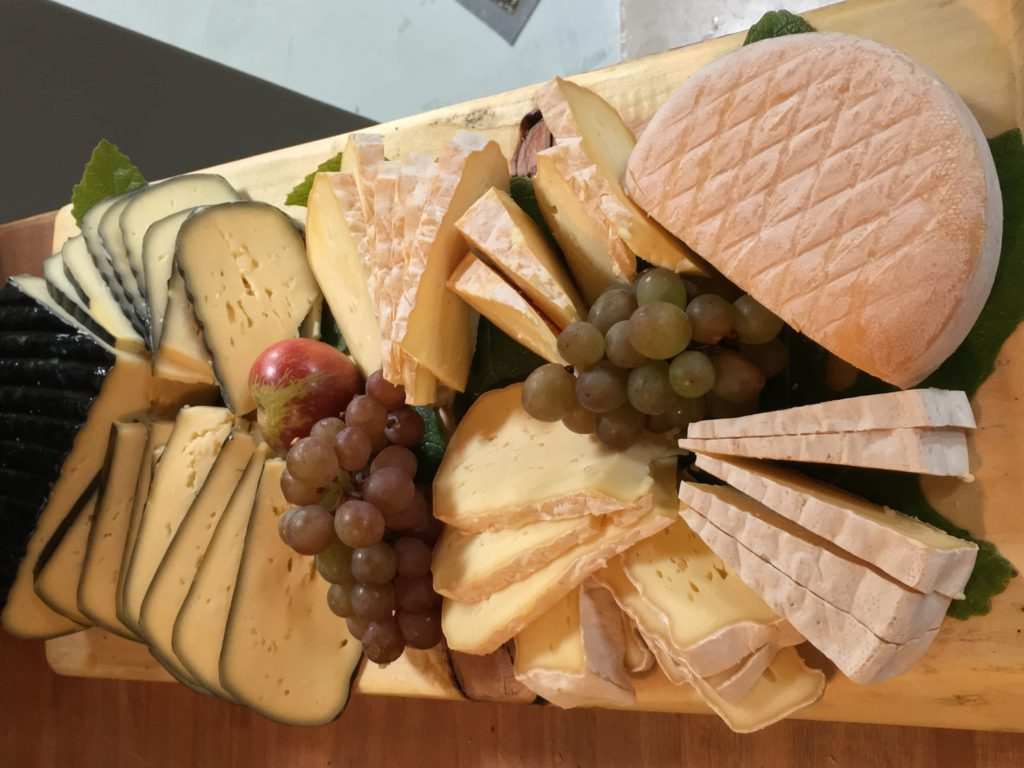 cheese offered on Irish food tour
