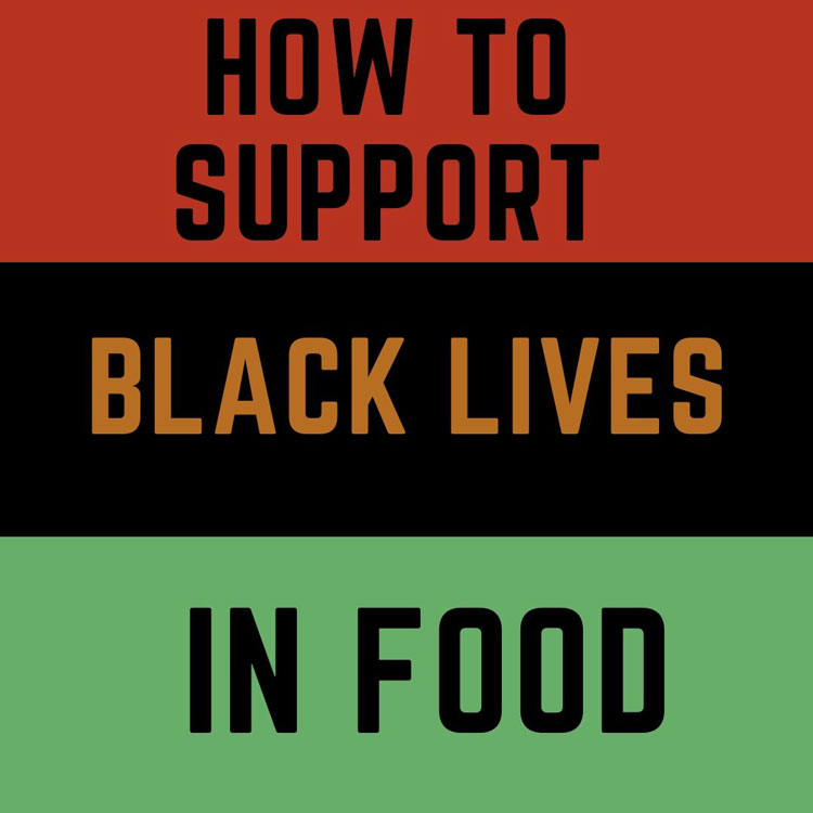An image for Black lives in food.