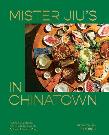 cover of Mr. Jiu's Chinatown cookbook.